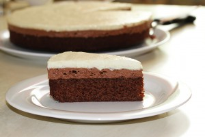 Mousse au Chocolat Cake - Vegan and Gluten-Free