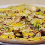 Tarte Flambée with Pumpkin