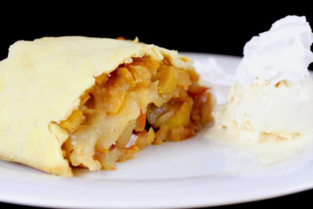 Gluten-free, vegan Apple Strudel