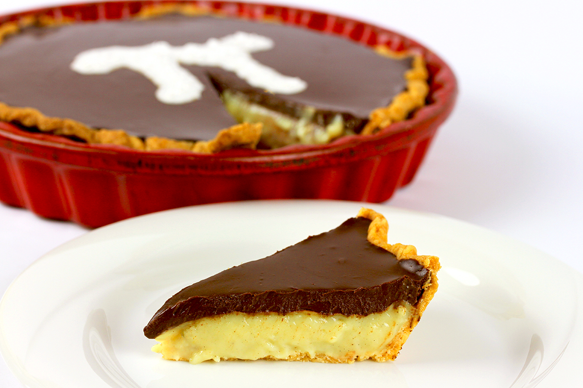 Boston Cream Pie - Vegan & Gluten-Free